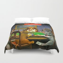 A FRIEND IN NEED - C.M. COOLIDGE Duvet Cover