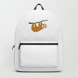 No Hurry No Worries Lazy Funny Sloth Animal Lover Backpack