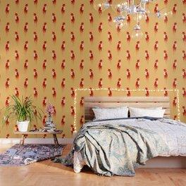 The fox, the forest spirit Wallpaper