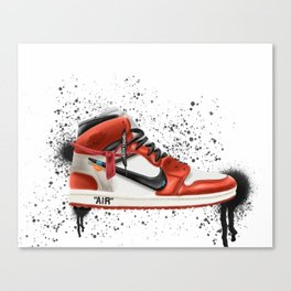 OFF WHITE J1 Canvas Print