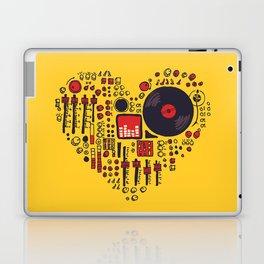Music in every heartbeat Laptop & iPad Skin