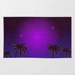 Sci-fi Miami Beach Rug