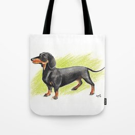 Dachshund (includes rescue donation!) Tote Bag