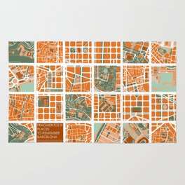 Fagmentos III Barcelona Rug