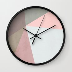 Delicate Geometry Wall Clock