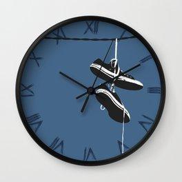 None Chucks Wall Clock