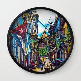 Havana, CUBA No.2   2015 Wall Clock
