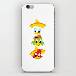 The Three Caballeros iPhone Skin