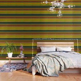 Tropical stripes Wallpaper