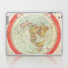 Flat Earth Laptop & iPad Skin