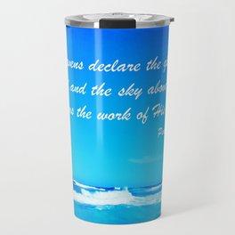 Psalm 19 Travel Mug