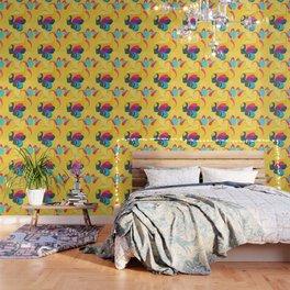 Flowers in the Wind 5 Wallpaper