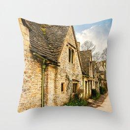 Beautiful Bibury Throw Pillow