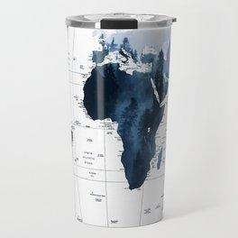 ALLOVER THE WORLD-Woods fog map Travel Mug