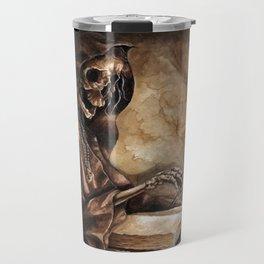 Skeleton Scribe Travel Mug