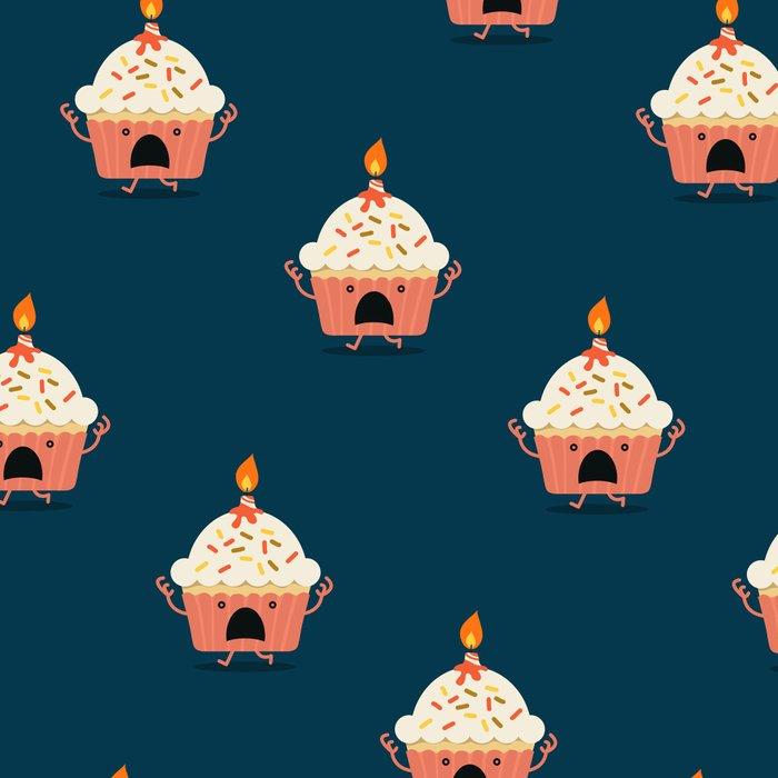 Cupcake on fire Leggings