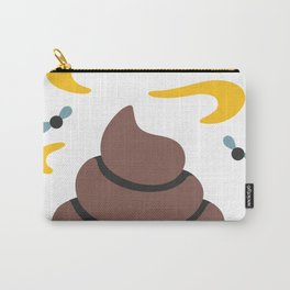 Poop Flies Carry-All Pouch
