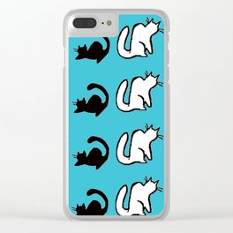 Purrsonality 5.0 Clear iPhone Case