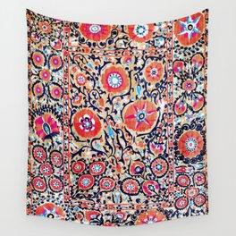 Shakhrisyabz Suzani Uzbek Embroidery Print Wall Tapestry
