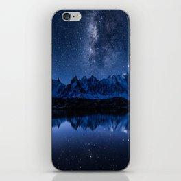 Night mountains iPhone Skin