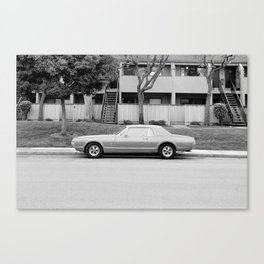 Soloparking #3 Canvas Print
