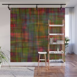 Multicolored Abstract Modern Pattern Wall Mural