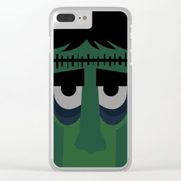 Lets be Frankenstein Clear iPhone Case