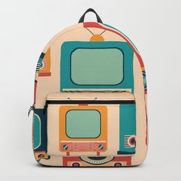 Retro TVs and Radios Backpack