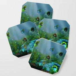 Fish Tank Aquarium Coaster