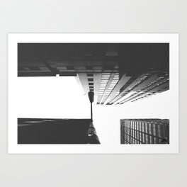 looking up - san francisco, ca Art Print