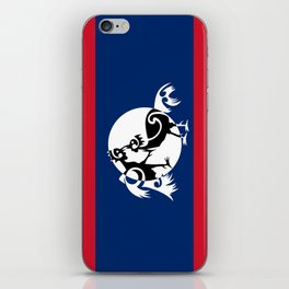 Laos, Roosters Sparring iPhone Skin