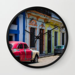 Colors of the Rainbow Wall Clock