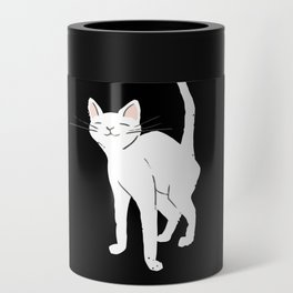 World's Best Cat Mom Cute Animal Typography Art Can Cooler