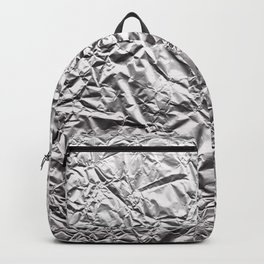 Silver Paper Backpack