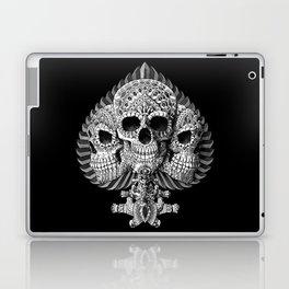 Skull Spade Laptop & iPad Skin