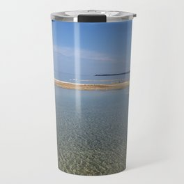 Lake Michigan beach vista Travel Mug