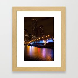 Colorful Waters Framed Art Print