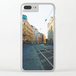 Vienna Street Clear iPhone Case