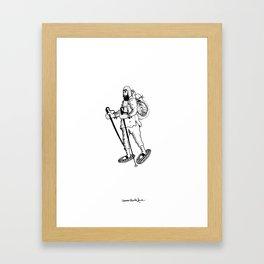 Arjen the Adventurer  Framed Art Print