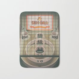Skee Ball Game Bath Mat