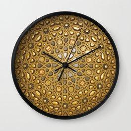 Stars of Morocco Wall Clock