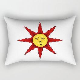 Praise the sun Rectangular Pillow