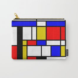 Art work inspired to P. Mondrian (n.1) Carry-All Pouch