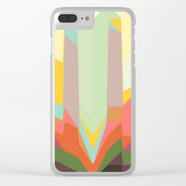 line abstract Clear iPhone Case