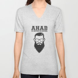 ALL HIPSTERS ARE BASTARDS - Funny (A.C.A.B) Parody Unisex V-Neck
