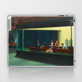 Pennywise in Hopper's Nighthawks Laptop & iPad Skin