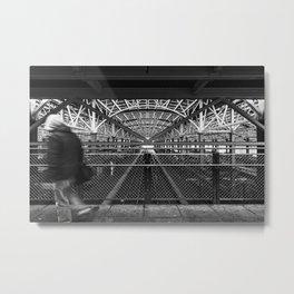 Coney Island - Stillwell Avenue Subway Station Metal Print