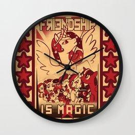 Friendship is Magic Wall Clock