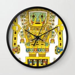 Viracocha Color Wall Clock
