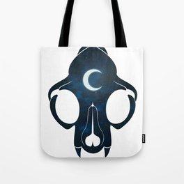 Night Skull Tote Bag